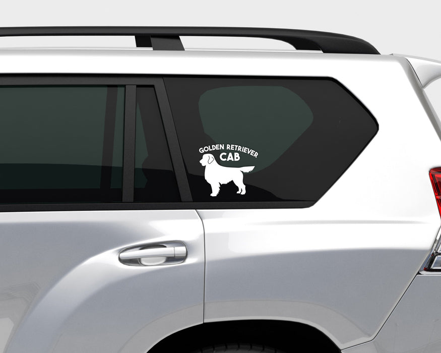 Golden Retriever Cab Decal