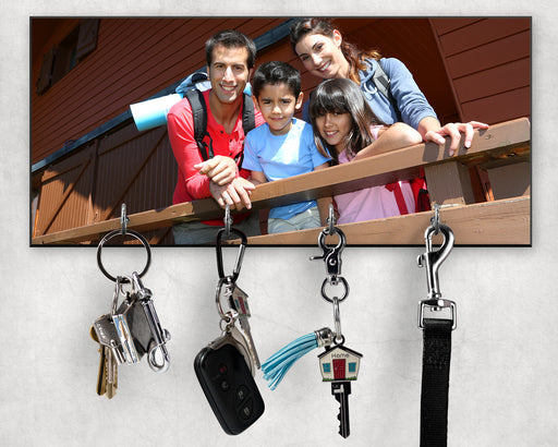 Front view Key Holder with keys