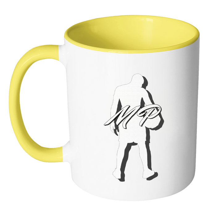 Accent Mug 11oz Mug - Mateo Paz - Legendary Basketball Player, Drinkware, pyaonline