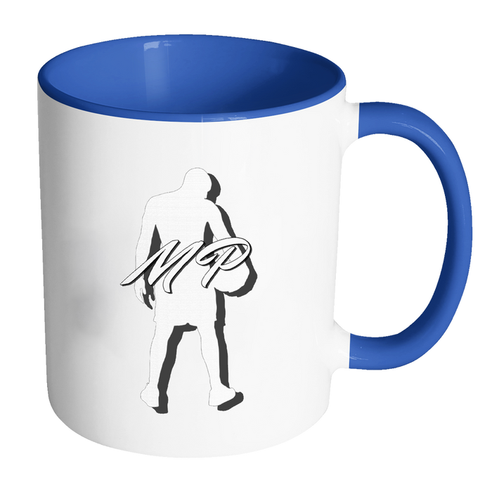 Accent Mug 11oz Mug - Mateo Paz - Legendary Basketball Player, Drinkware, Personally Yours Accessories