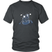 Astronaut Paddling Across The Galaxy, T-shirt, Personally Yours Accessories