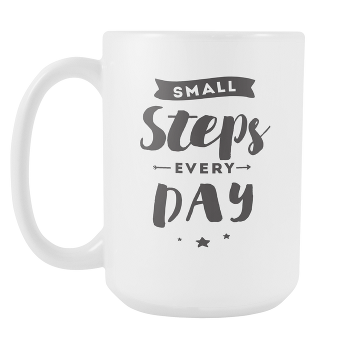 Small Steps every Day - Without Graphic Left