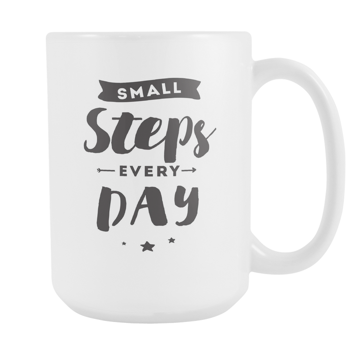 Small Steps every Day - With Graphic Right