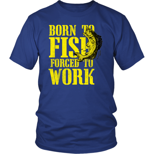 T-Shirt - Born to Fish, T-shirt, Personally Yours Accessories