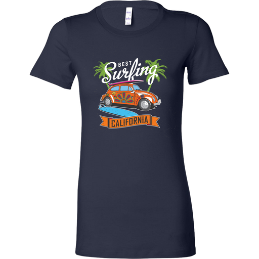 Bella Womens Shirt - Best Surfing - California, T-shirt, Personally Yours Accessories