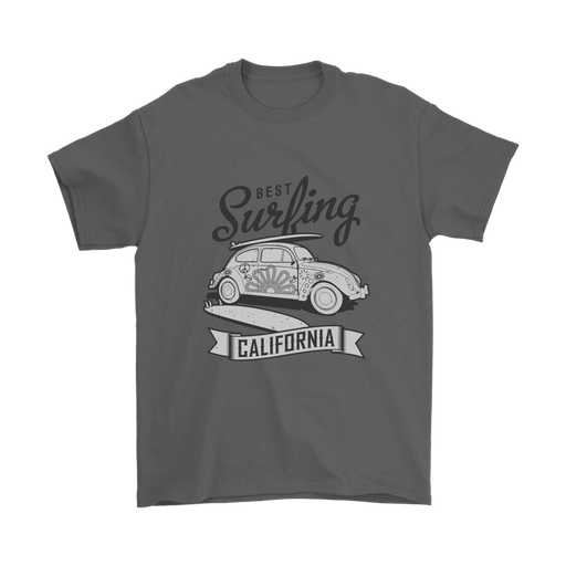 Mens T-Shirt - Best Surfing - California - B/W, T-shirt, Personally Yours Accessories