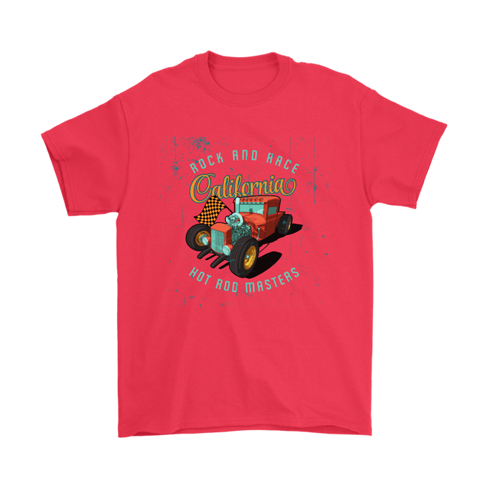 Mens T-Shirt - Rock and Roll - Hot Rod Masters, T-shirt, Personally Yours Accessories