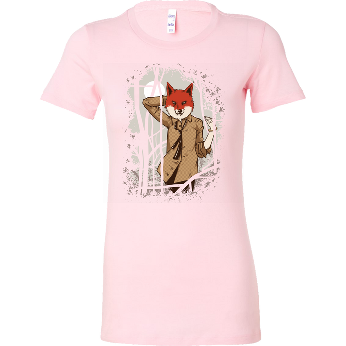 Bella Womens Shirt - What Does The Fox Say, T-shirt, pyaonline