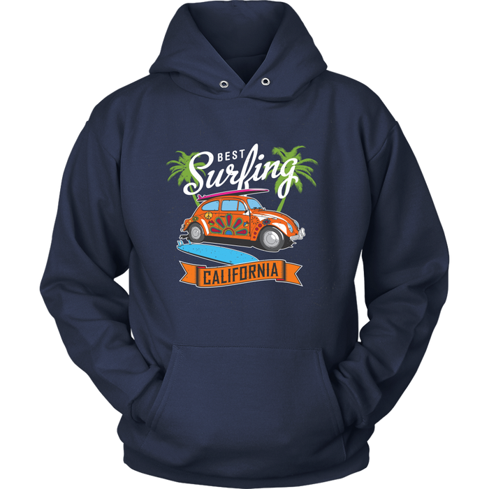 Unisex Hoodie Sweatshirt - Best Surfing - California, T-shirt, Personally Yours Accessories