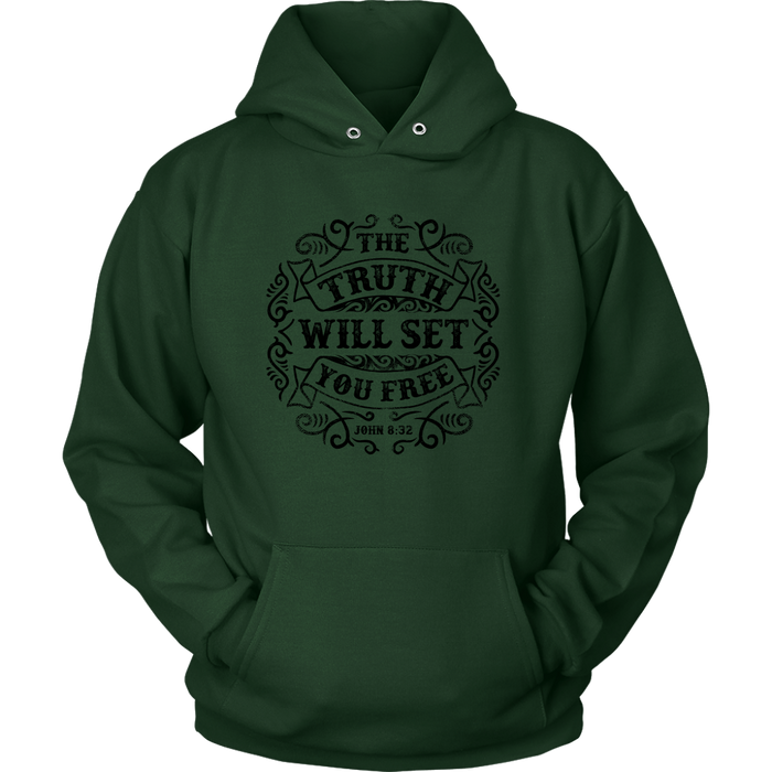 Unisex Hoodie Sweatshirt - The Truth will Set you Free