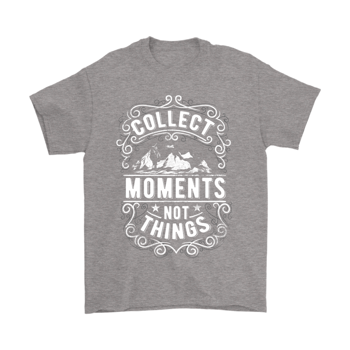 Gildan Mens T-Shirt - Collect Moments not Things, T-shirt, pyaonline