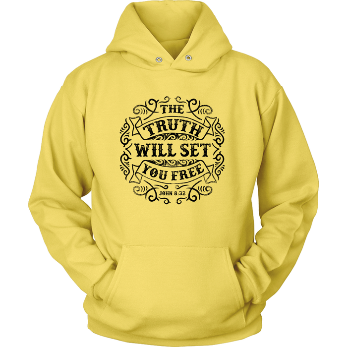 Unisex Hoodie Sweatshirt - The Truth will Set you Free, T-shirt, Personally Yours Accessories