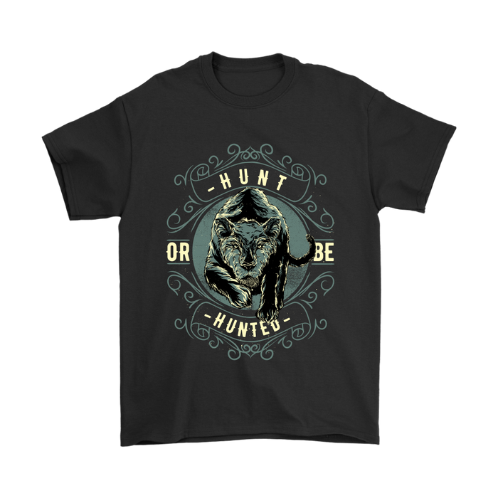 Gildan Mens T-Shirt - Hunt or be Hunted, T-shirt, pyaonline
