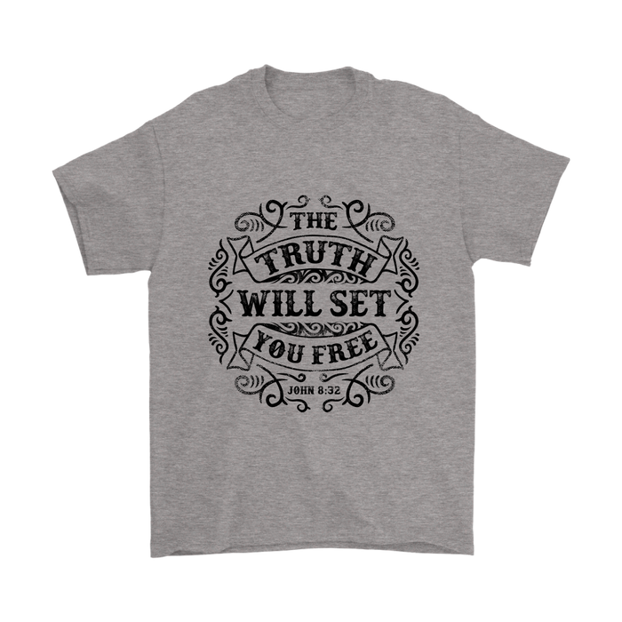 Mens T-Shirt - The Truth will set you Free, T-shirt, Personally Yours Accessories