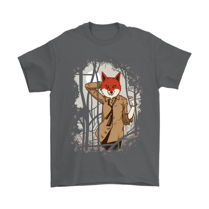 Gildan Mens T-Shirt - What does the Fox Say, T-shirt, pyaonline