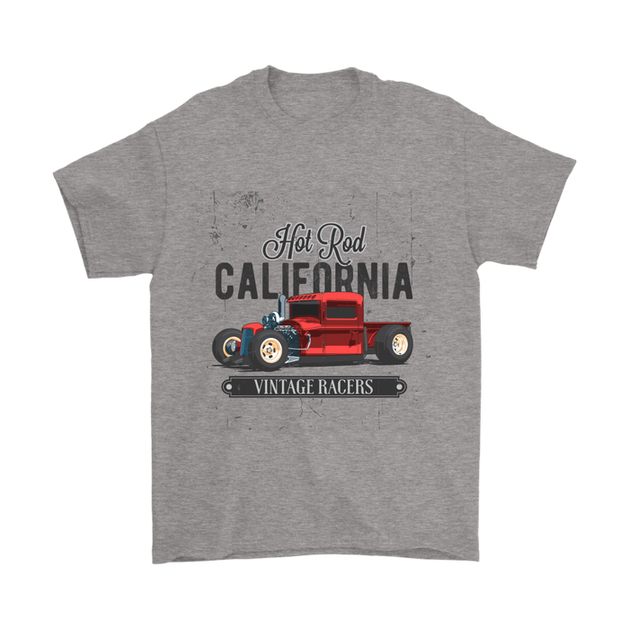 Mens T-Shirt - Hot Rod Cali, T-shirt, Personally Yours Accessories