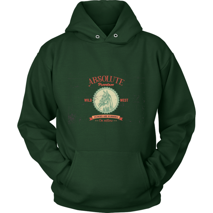 Unisex Hoodie Sweatshirt - Absolute Freedom, T-shirt, Personally Yours Accessories
