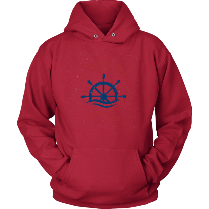 Unisex Hoodie Sweatshirt - A Smooth Sea
