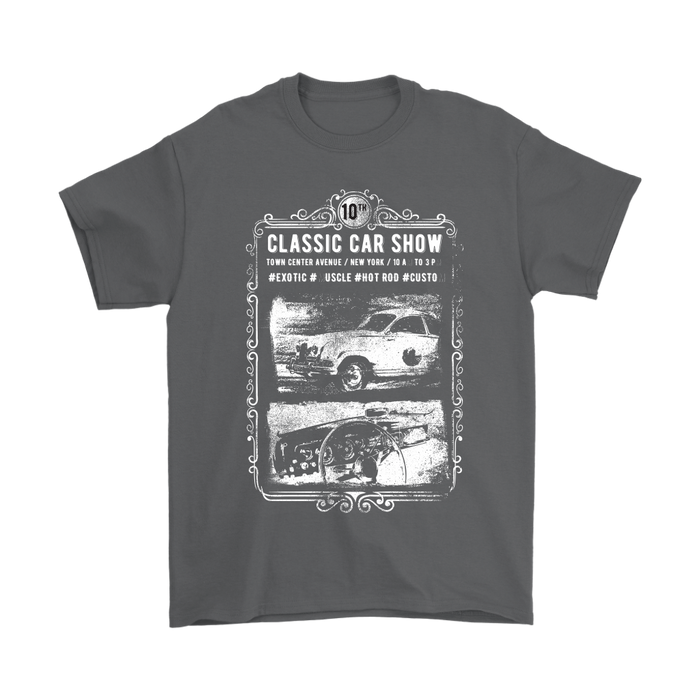 Mens T-Shirt - Classic Car Show, T-shirt, Personally Yours Accessories