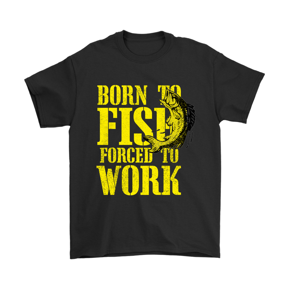 Mens T-Shirt - Born to Fish, T-shirt, Personally Yours Accessories