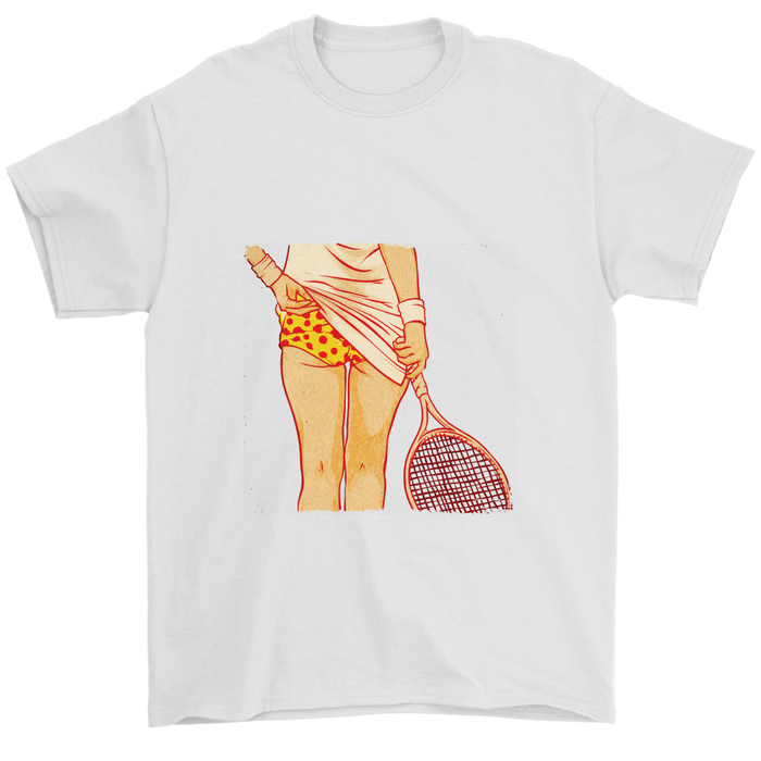 Mens T-Shirt - Tennis is sexy with a Racket, T-shirt, Personally Yours Accessories