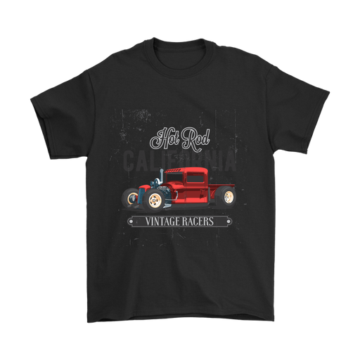 Gildan Mens T-Shirt - Hot Rod Cali, T-shirt, pyaonline