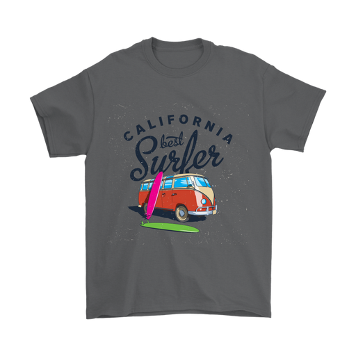 Mens T-Shirt - California - Best Surfer - Color, T-shirt, Personally Yours Accessories