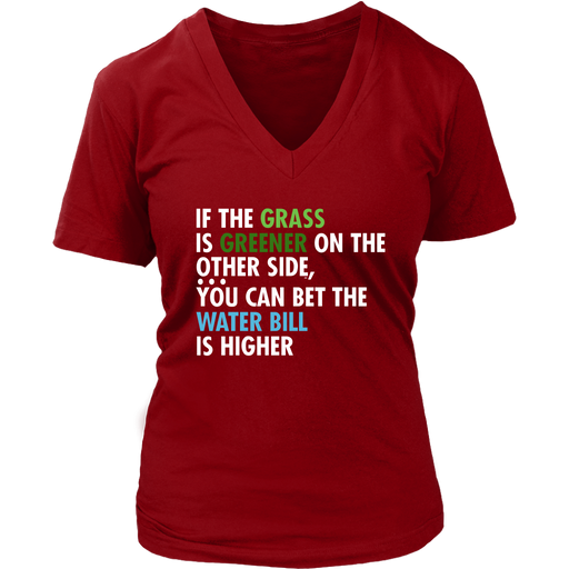 If the Grass is Greener - District, T-shirt, Personally Yours Accessories
