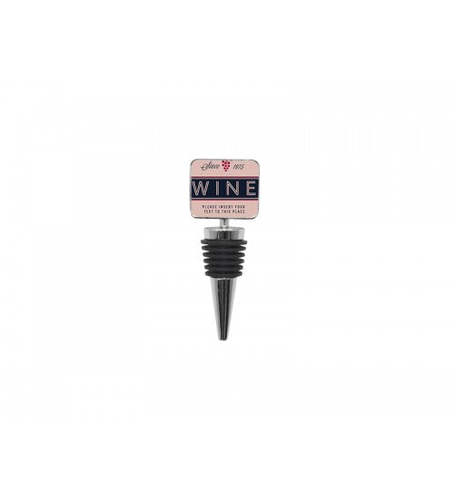 "Square Wine Stopper 1.25"" Custom Photo, Drinkware, Personally Yours Accessories"