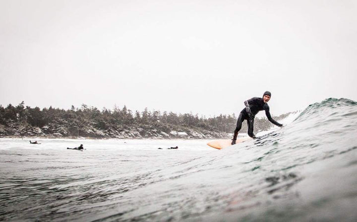 An Honest Account of Winter Surfing in Tofino