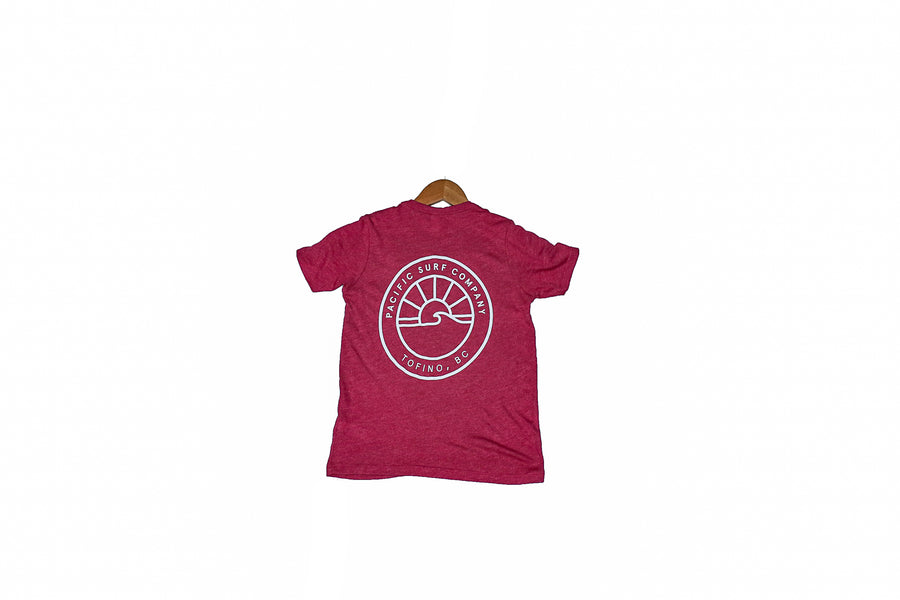 YOUTH TEE / SUN / RED