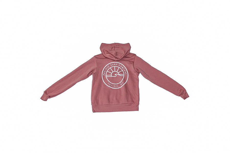 YOUTH SUN PULLOVER / DUSTY ROSE
