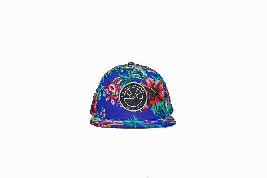 SUN PATCH HAT / BLUE TROPICAL