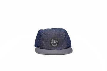 Runner Hat / Sun / Dotted + Grey