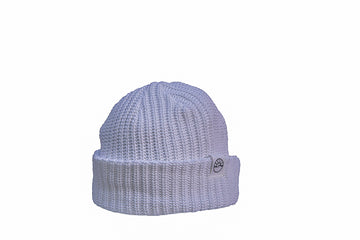 Comfy Knit Toque / White