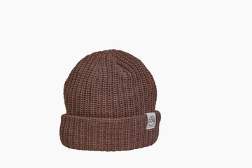 Comfy Knit Toque / Brown