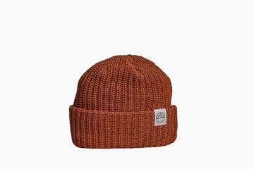 Comfy Knit Toque / Orange