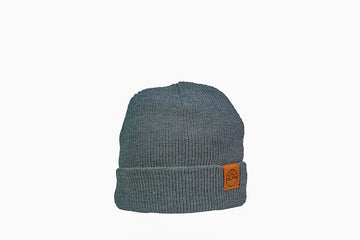 Wide Rib Toque / Steel Blue