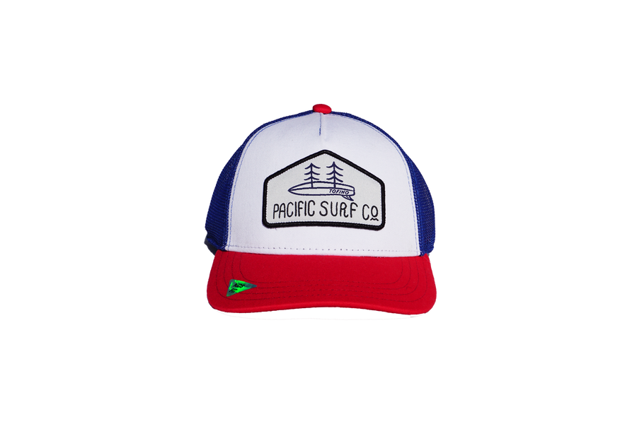 KIDS FIT / MESH HAT / RED, WHITE, & BLUE