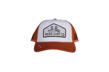 KIDS FIT / MESH HAT / ORANGE & WHITE
