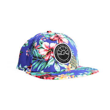 KIDS FIT / SUN PATCH HAT / BLUE HAWAIIAN