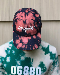 Tie Dye Westport Embroidered Rally Cap