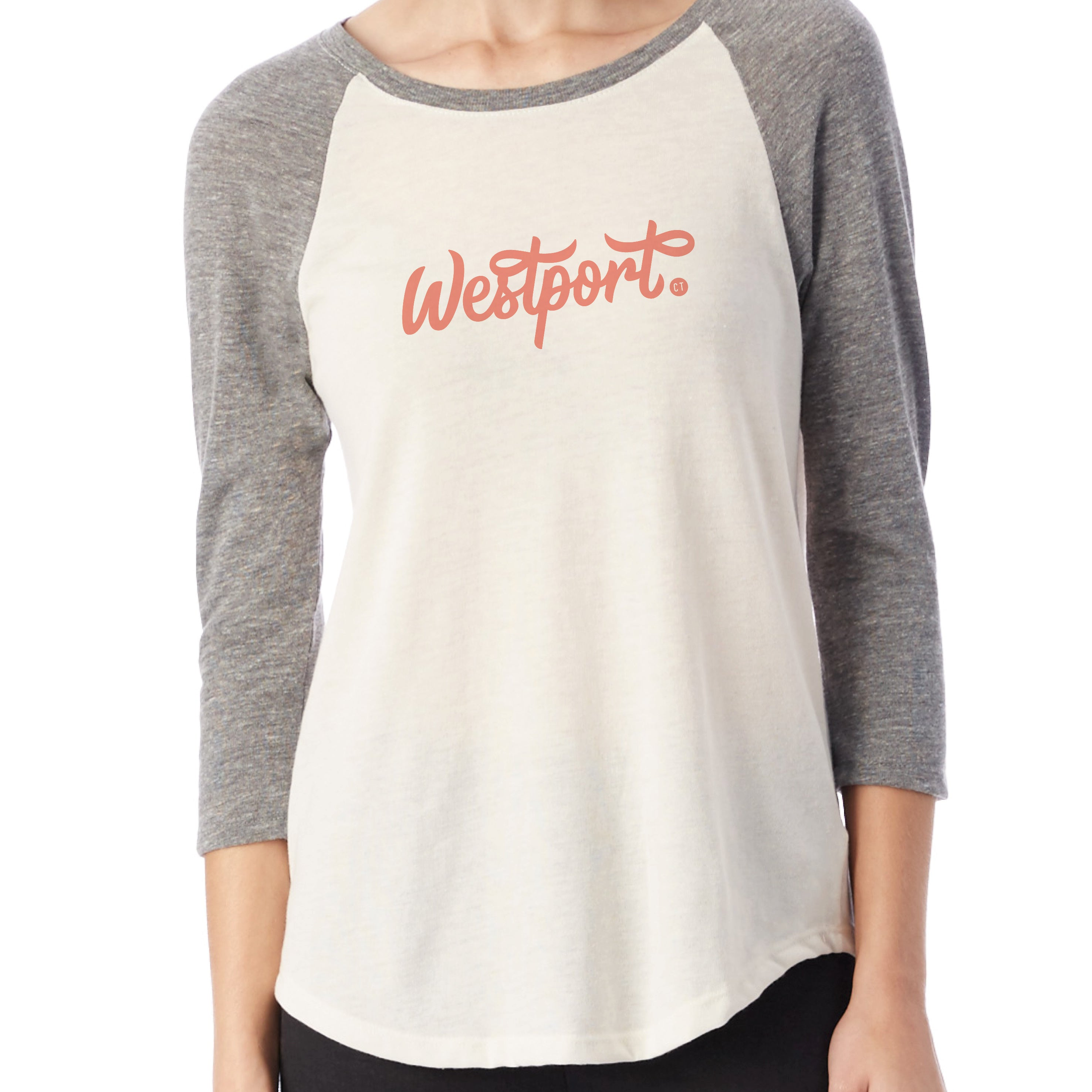 Westport T-shirt by Townee - Townee Baseball Tee (front)