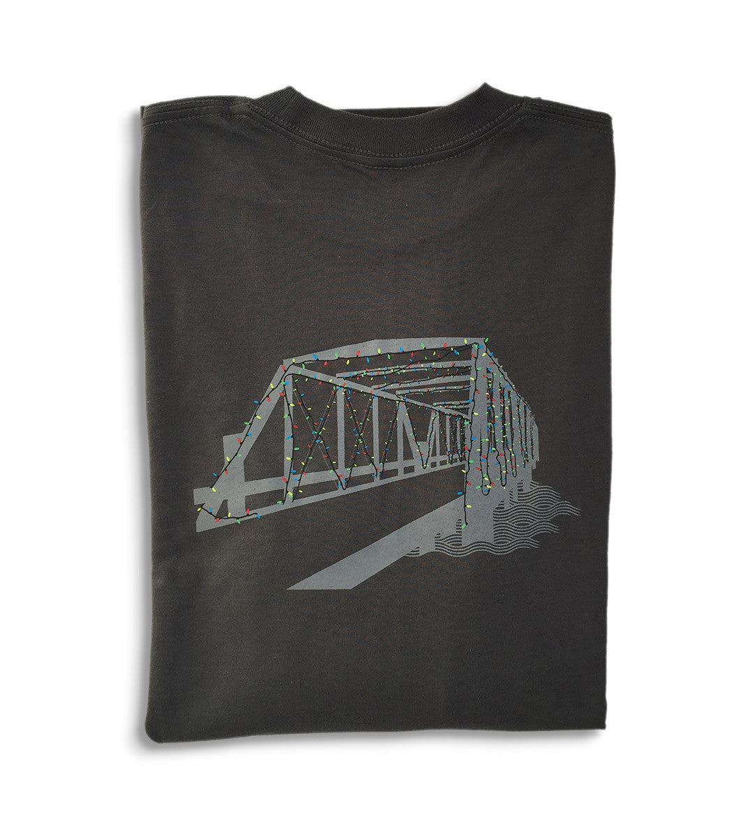 Westport T-Shirts by Townee - Saugatuck Long Sleeve Tee (folded)