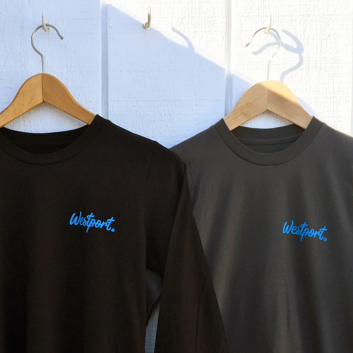 Westport T-Shirts by Townee - Saugatuck Long Sleeve Tee (front)