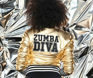 The Hottest Zumba® Jacket Ever Made - Zumba® Diva Bomber Jacket