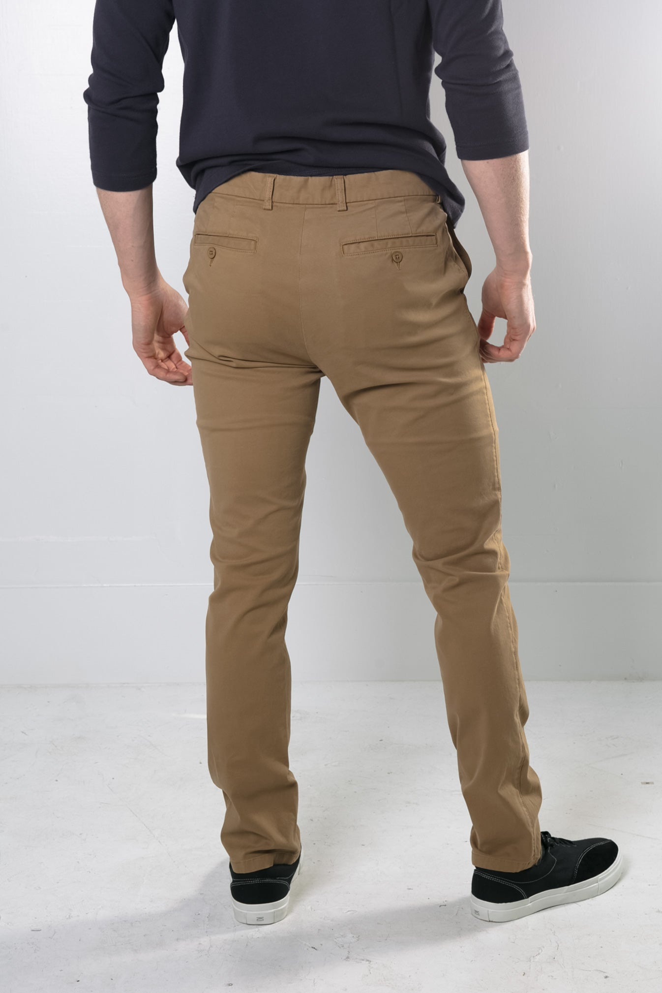 Stretch Chino in Camel