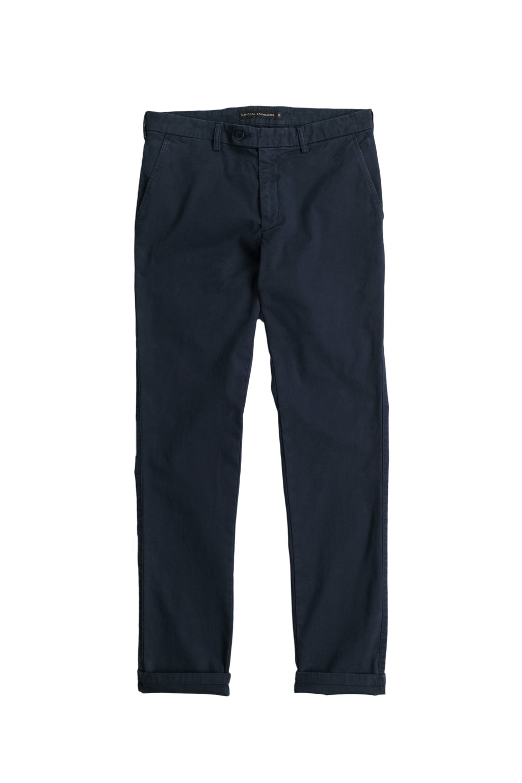 Stretch Chino in Navy Front