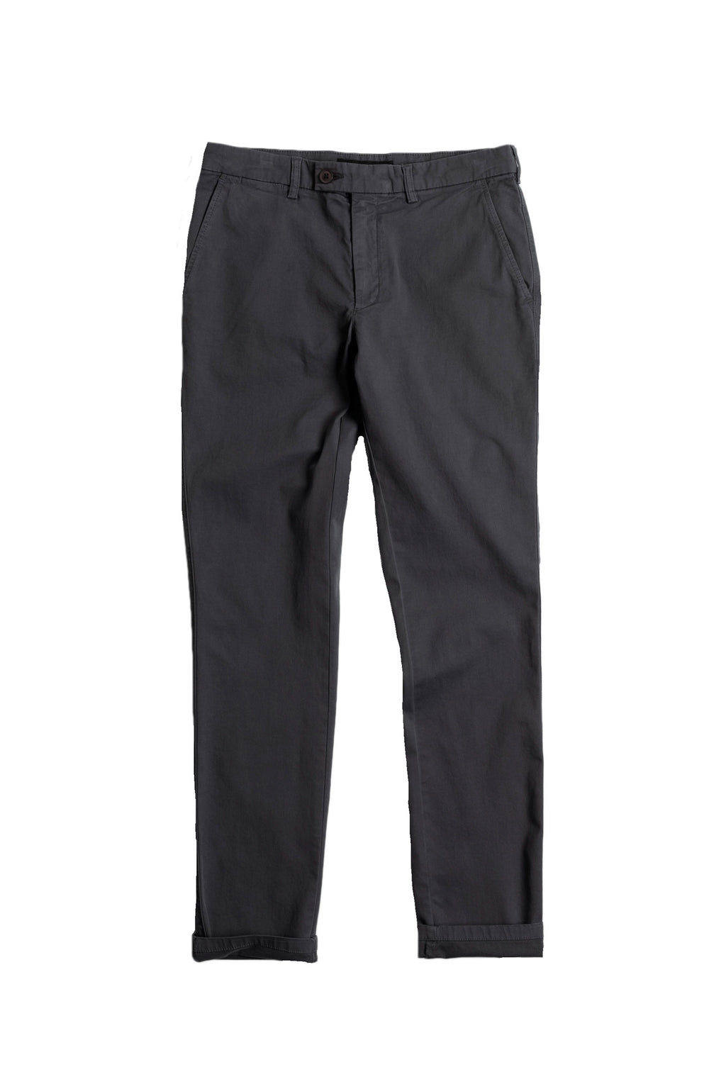 Stretch Chino in Onyx Front