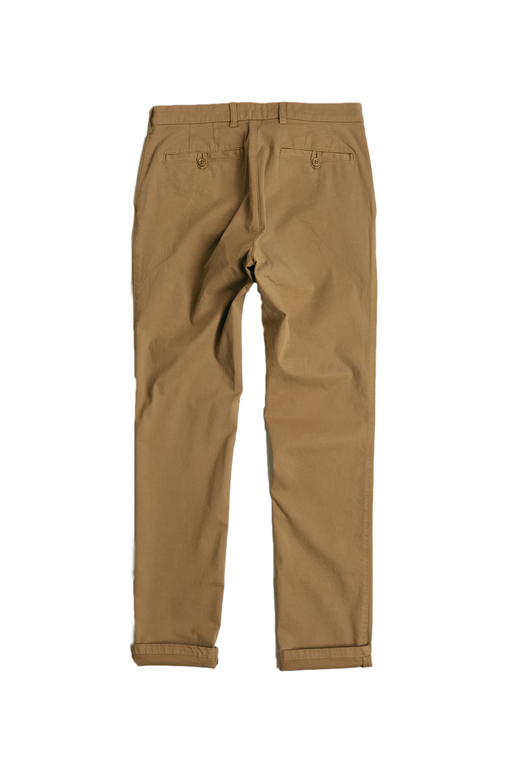 Stretch Chino in Camel Front